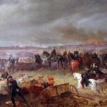 Schlacht bei Königgrätz, a painting by Georg Bleibtreu, 1868.