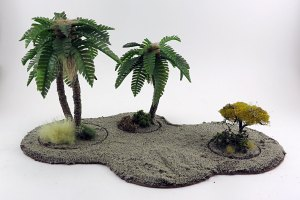 Sean Souter Palm Tree Tutorial Basing and Final Touches