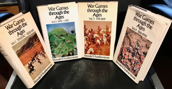 "Don Featherstone's ""War Games though the Ages"" books."