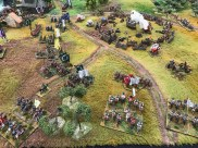 Border War 1712 in 28mm by Barry Hilton and the League of Augsburg.