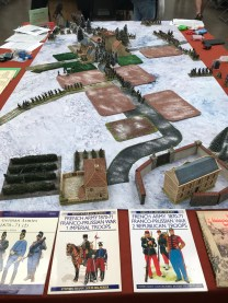 Gothenburg Gamers staged a 28mm Franco-Prussian War game.