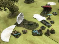 Winner of Best Demo Game: Oosterbeek 1944 – The Witches Cauldron, staged in 20mm by Old Pikey's Gaming Group.
