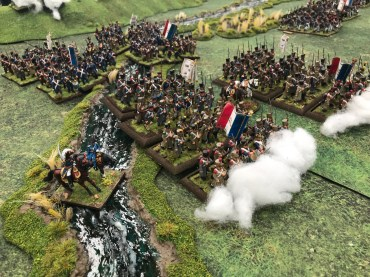 Quatre Bras 1815 by Sheffield and Rotherham Wargamers in 28mm using Black Powder.