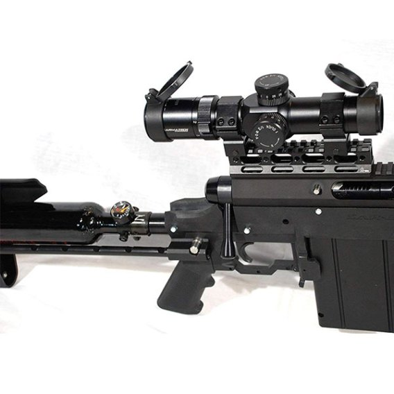 Carmatech SAR12c mag and scope sniper rifel