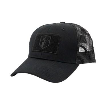 First Strike Tactical Trucker Hat Black