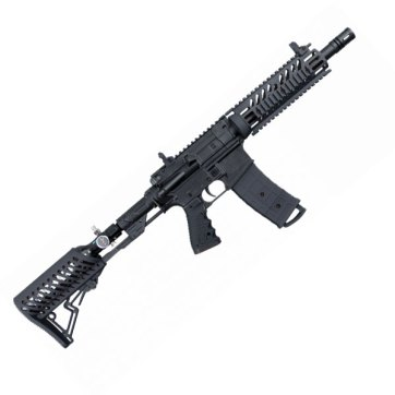Tippmann TMC Black with Air-through stock