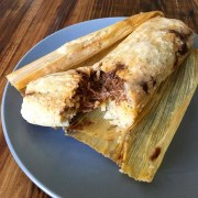 tamale de mole plated The Battleground Mexican restaurant Kent Ohio