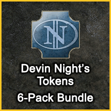 Devin Night's Tokens 6-Pack Bundle