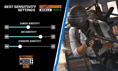 Best Sensitivity Settings for Battlegrounds Mobile India