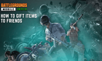 How to Gift Items to Friends in Battlegrounds Mobile India