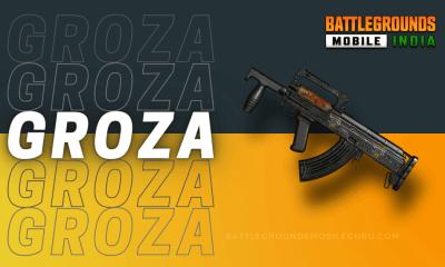 BGMI Groza Weapon