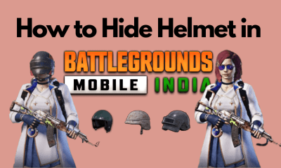 How to Hide Helmet in BGMI