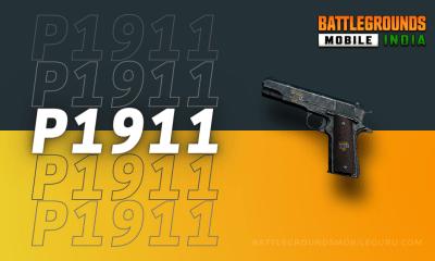 BGMI P1911 Weapon