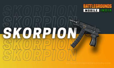BGMI Skorpion Weapon