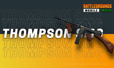 BGMI Thompson SMG