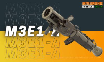 BGMI M3E1-A Weapon