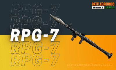 BGMI RPG-7 Weapon