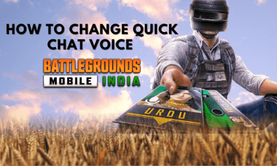 How to Change Quick Chat Voice in BGMI