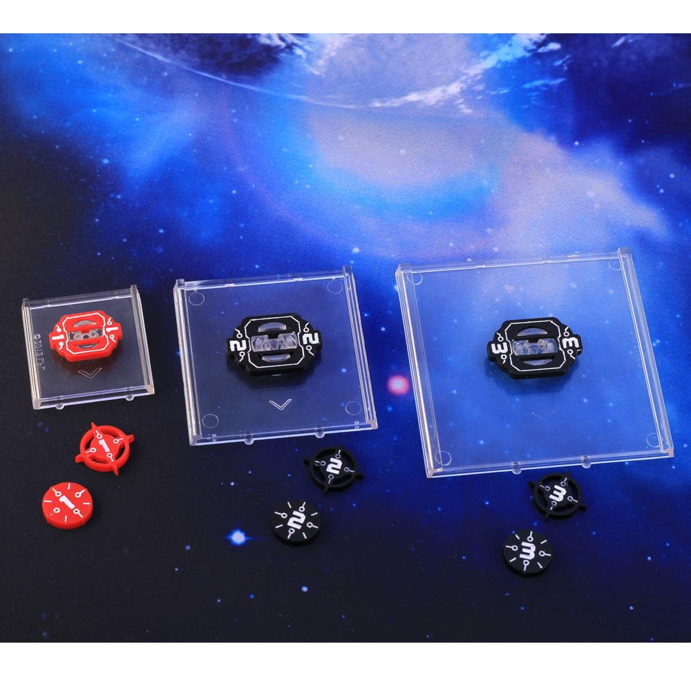 Star Wars X-Wing 2.0 Game ID Markers /& Target Lock Number 9 Token Set