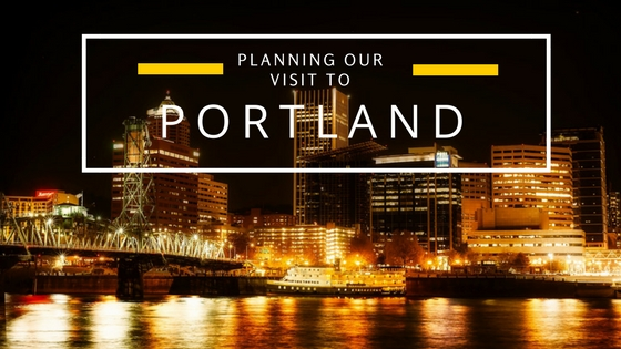 our visit to portland