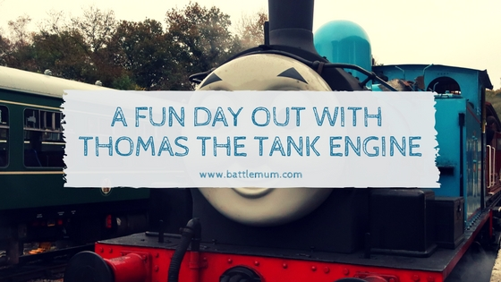 a fun day out with Thomas the tank engine - blog graphic