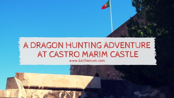 DRAGON HUNTING ADVENTURE AT CASTRO MARIM - blog graphic