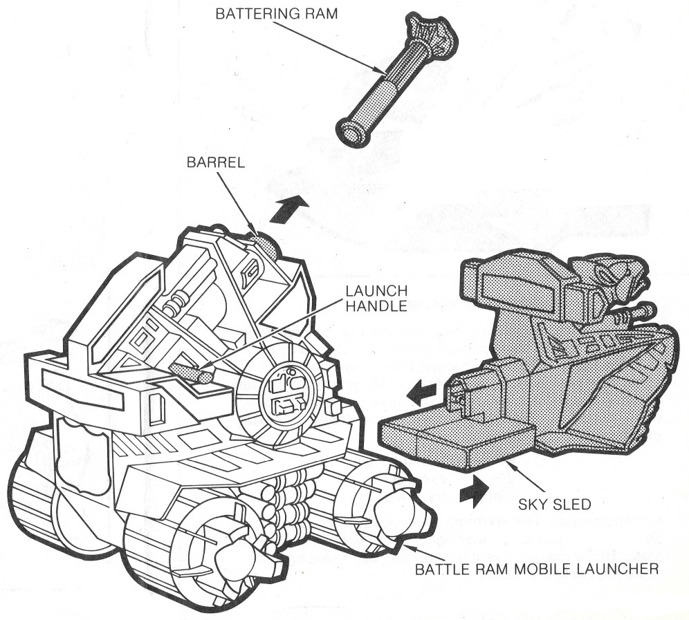 From Battle Ram instruction booklet. Scan by Battle Ram Blog.
