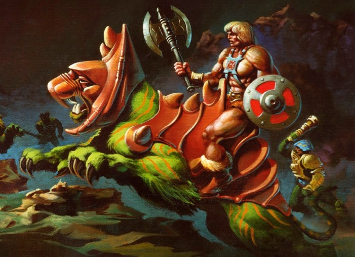 He-Man and Battle Cat
