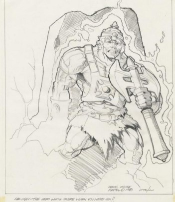 mark taylor early he-man