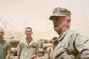 Gen. James Mattis (Photo by Cpl. Zachary Dyer/Marine Corps)
