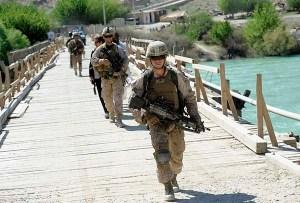 Marines in Kajaki district, Afghanistan
