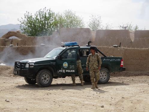 Afghan National Police 'Danger Ranger' truck