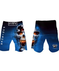 Punisher Fight Shorts by Battle Tek Athletics Are Perfect For Athletic Training, MMA And Grappling Sports
