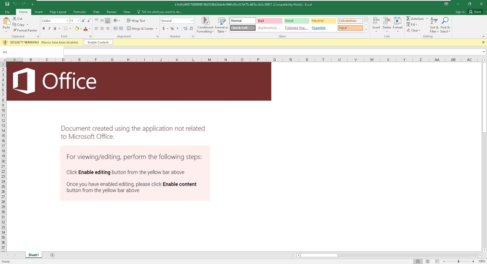 Excel 4 0 Zararl Macroizi