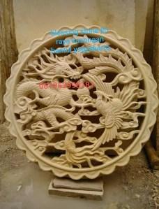 Relief Naga Batu Paras Ukir