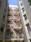 Fire Escapes in Front