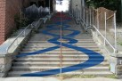 Steps at W.187th St. Art Project - (c) DNAInfo