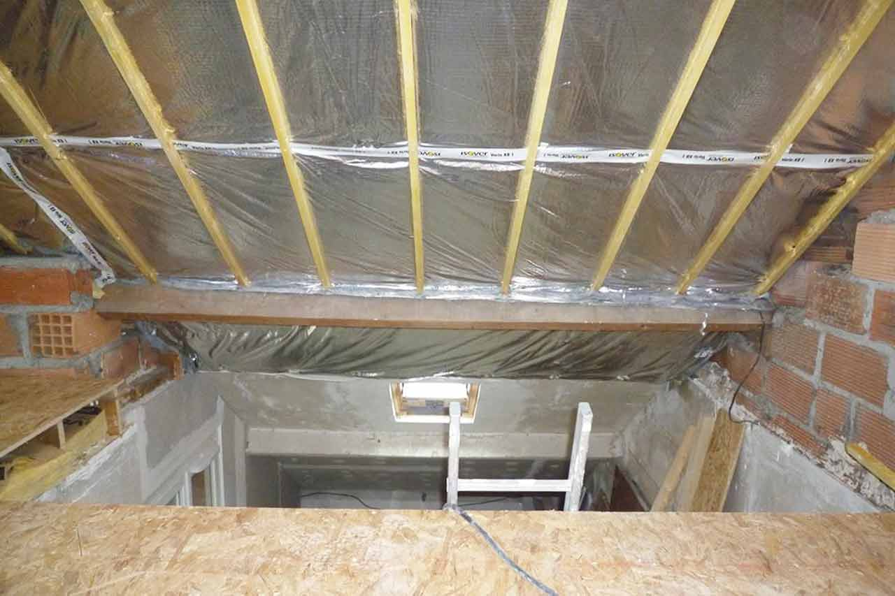 Am nagement de combles isolation plancher mezzanine for Cout d amenagement de combles