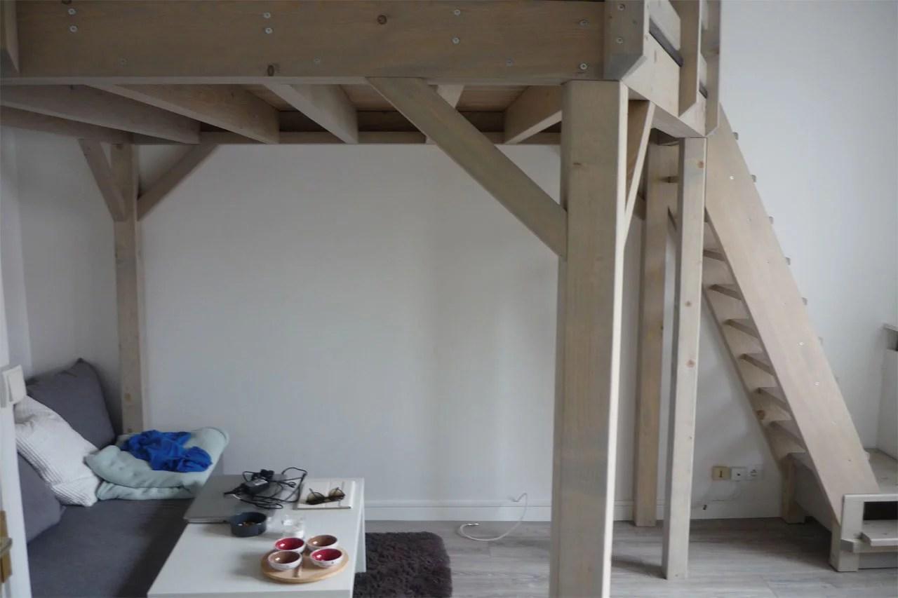 Am nagement int rieur mezzanine cloison escalier - Fabrication mezzanine bois ...