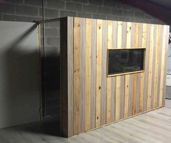 Aménagement intérieur DIY avec palette artisan 91
