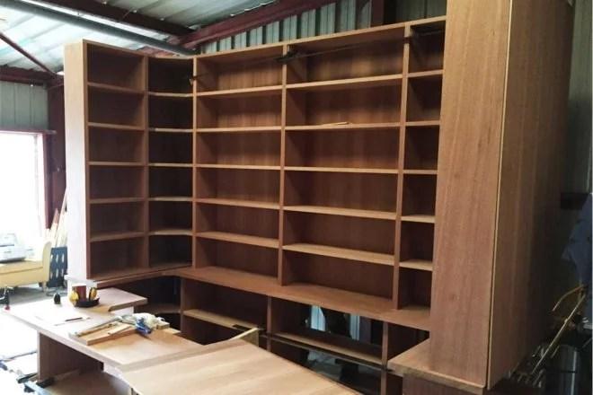 Baty r fabrication de meubles en bois sur mesure artisan dans le 91 for Construction en bois sur mesure
