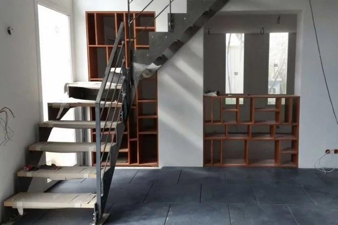 meuble en bois sur mesure artisan paris 75