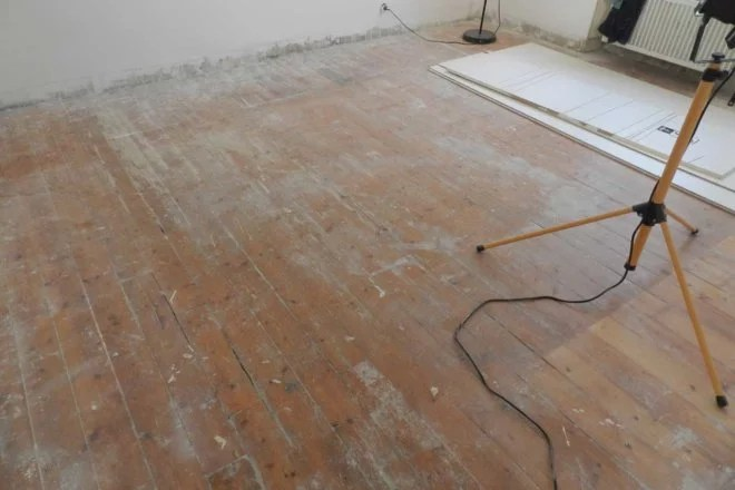 Dépose de parquet et renovation enterprise 91