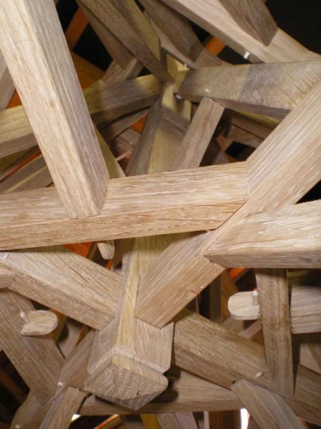 Maquettes en bois de charpente