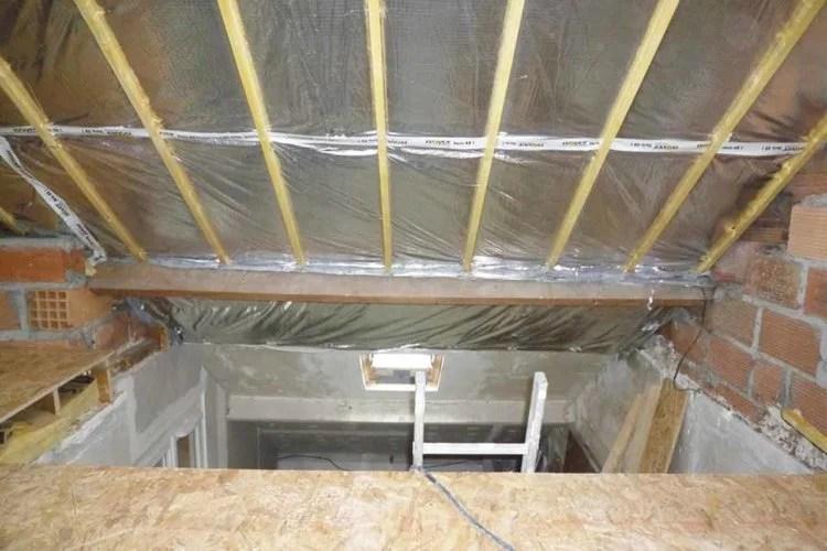 aménagement de combles isolation toiture