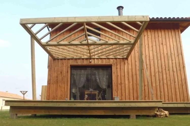 aménagement extérieur en bois artisan 91