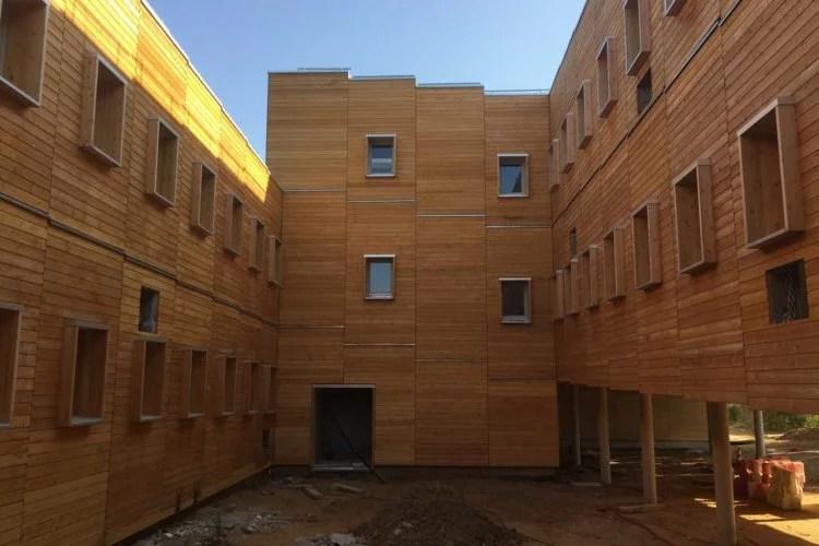 Construction en bois et bardage porcheville 78
