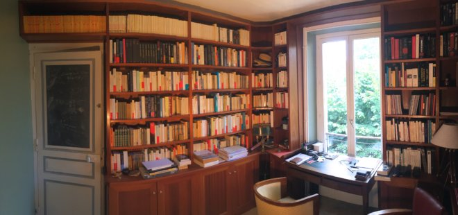 bibliothèque meuble sur mesure artisan 91