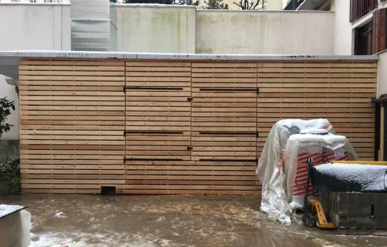 pose bardage construction cabanon bois batyr 91
