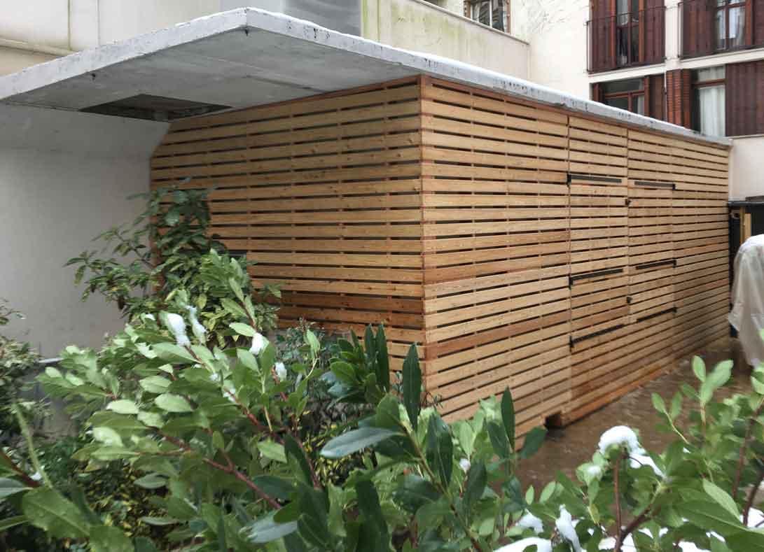 Baty r entreprise de construction en bois ossature bardage 91 for Construction en bois sur mesure